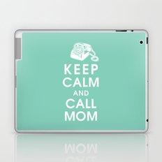 Keep Calm and Call Mom Laptop & iPad Skin