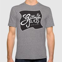 Gin & Tarts Mens Fitted Tee Tri-Grey SMALL