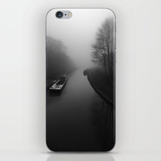 Canal fog iPhone & iPod Skin