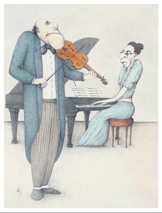Chamber Music Art Print