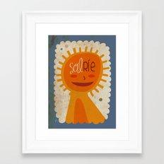 solRie Framed Art Print
