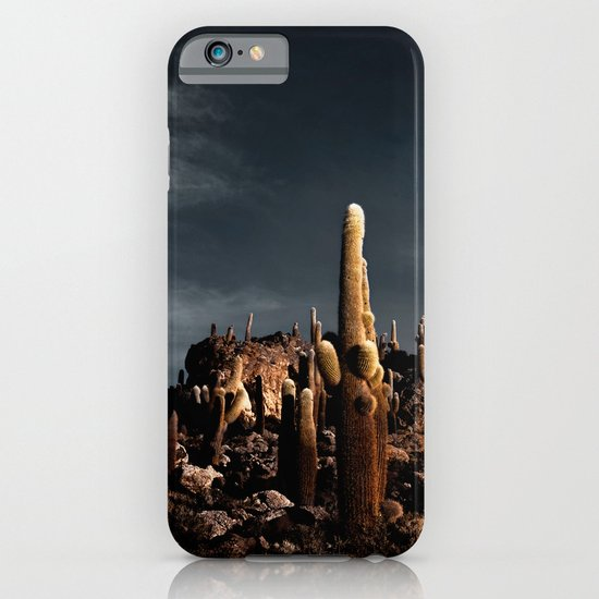 Cactus in Incahuasi island iPhone & iPod Case