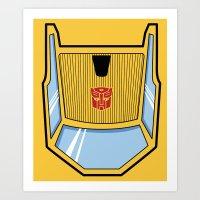 Transformers - Sunstreak… Art Print