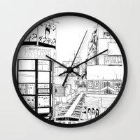 Tokyo - Nishiogi  Wall Clock