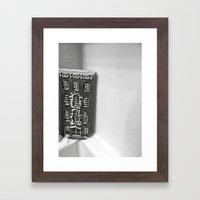 House Framed Art Print
