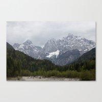Kranjska Gora Canvas Print