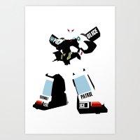 Transformers G1 - Autobo… Art Print