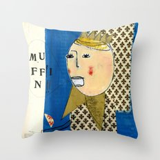 RE Throw Pillow