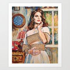 Lana Rey Art Print