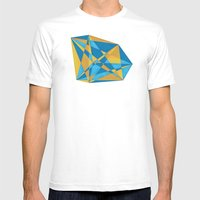 A New Geometry Mens Fitted Tee White SMALL