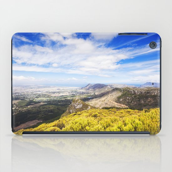 View of Silvermine and False Bay iPad Case