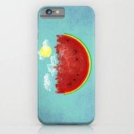 Watermelon City iPhone 6 Slim Case