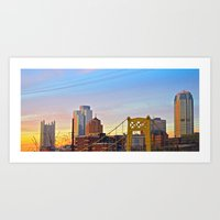 Sunset From The Southsid… Art Print