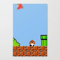 Minion's Last Rites: Mario's Goomba Canvas Print