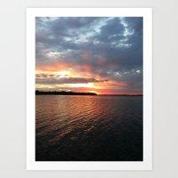 Minnesota Sunrise 7 Art Print