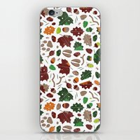 Forest Floor Tile Patter… iPhone & iPod Skin