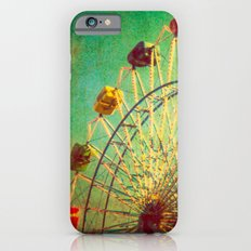 The Unbearable Elation of Summer carnival ferris wheel  iPhone 6s Slim Case