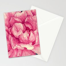 Peonies (soft tone) Stationery Cards