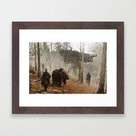 Framed Art Print featuring 1920 - Into The Wild by Jakub Rozalski