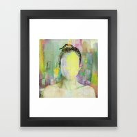 A Person Among Others Framed Art Print