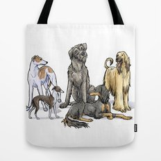 Graceful Sighthounds Tote Bag