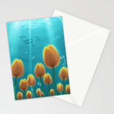 Tulips under the Sea Stationery Cards