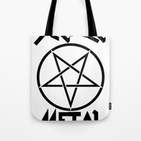 SLEAZE METAL Tote Bag