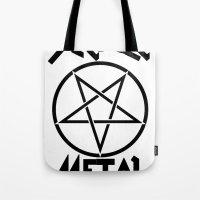 SLEAZE METAL Tote Bag