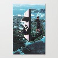 time foyer Canvas Print