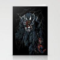 Vicious Venom Violence Stationery Cards