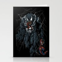 Vicious Venom Violence Stationery Cards