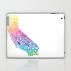 Typographic California - Springtime Laptop & iPad Skin