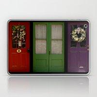 Doors of Clinton Laptop & iPad Skin