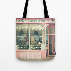 Sweet Cafe Tote Bag