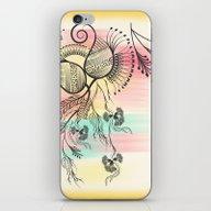 Decorative Floral iPhone & iPod Skin