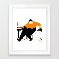 SPAGGATI Framed Art Print