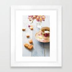 Tea And Mahjong  Framed Art Print