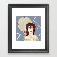 Broken Mirror Framed Art Print