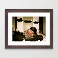 Frustration Framed Art Print