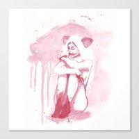 Dirty Paws Canvas Print