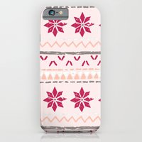 iPhone & iPod Case featuring Girly Fairisle by Ellie Kempton