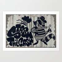Stash The Cash Art Print