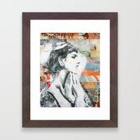 Ces Belles Mains Framed Art Print