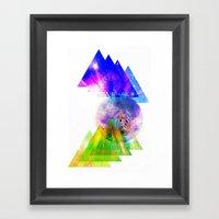 Above & Beyond Framed Art Print