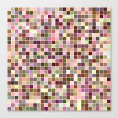 Colorful square mosaic Canvas Print