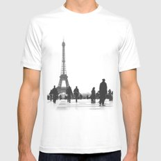 Trocadero Paris SMALL Mens Fitted Tee White