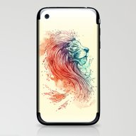 iPhone & iPod Skin featuring Sea Lion by Steven Toang