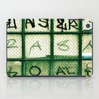 Window Words  iPad Case