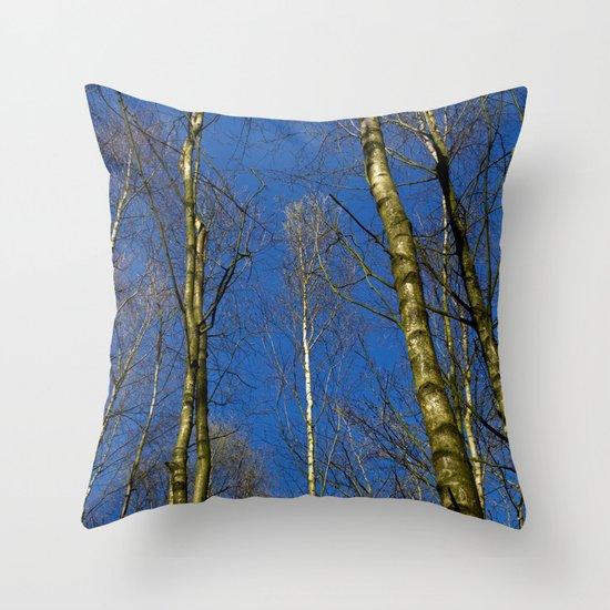 The Still forest Throw Pillow