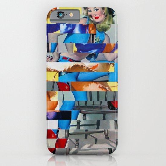 Glitch Pin-Up: Yasmin & Yardley iPhone & iPod Case